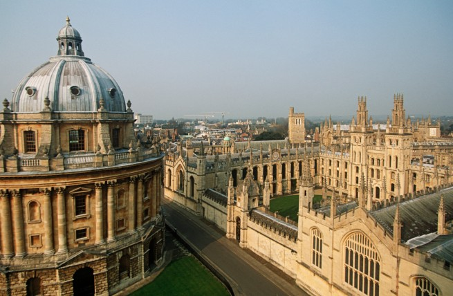 Oxford University Area