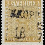 Rare Sweden Stamp