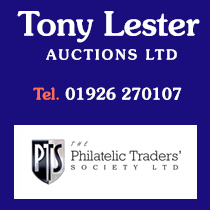 Tony Lester Stamp Auctions | Phone 01926 270107