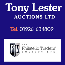 Tony Lester Stamp Auctions | Phone 01926 634809